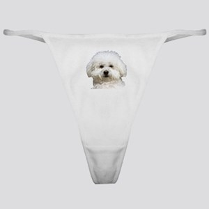 Fifi the Bichon Frise Classic Thong