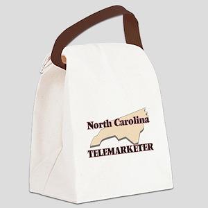 North Carolina Telemarketer Canvas Lunch Bag