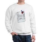Peace Damn It 2 Sweatshirt