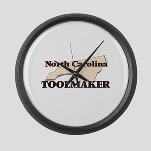 North Carolina Toolmaker Large Wall Clock
