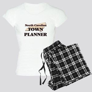 North Carolina Town Planner Women's Light Pajamas