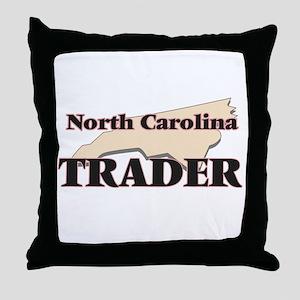 North Carolina Trader Throw Pillow