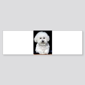 Fifi our Bichon Frise Bumper Sticker