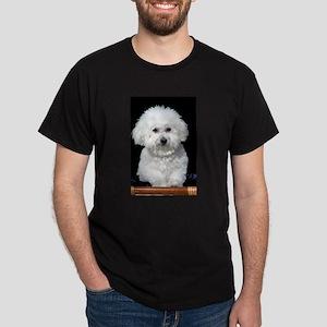 Fifi our Bichon Frise Dark T-Shirt