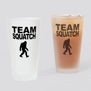 Team Squatch Drinking Glass