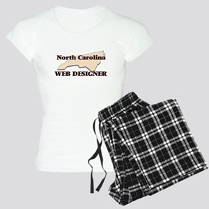 North Carolina Web Designer Women's Light Pajamas