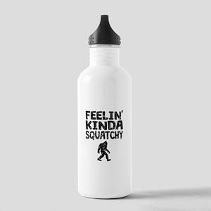 Feelin Kinda Squatchy (Distressed) Water Bottle