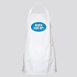 Never Give Up - Blue Light Apron