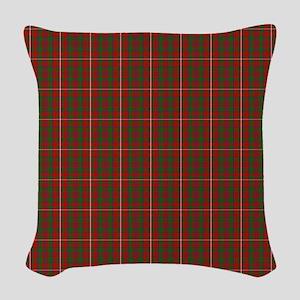 MacKinnon Scottish Tartan Woven Throw Pillow