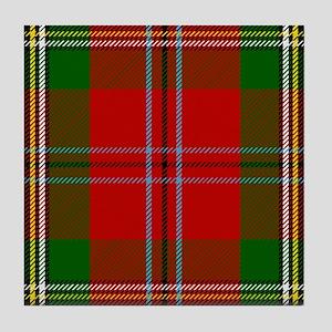 MacLean Of Duart Scottish Tartan Tile Coaster