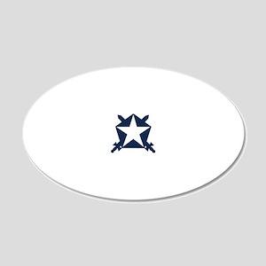 Pi Kappa Phi Star Shield Wall Decal