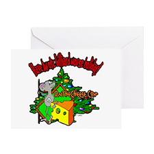 OTC Billiards Christmas Greeting Card