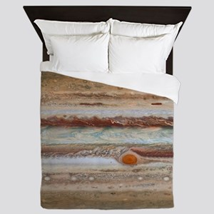 Jupiter Great Red Spot Queen Duvet