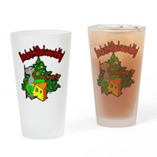 OTC Billiards Christmas Drinking Glass
