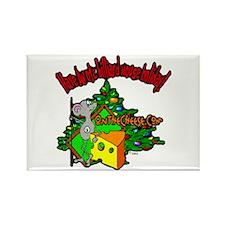 OTC Billiards Christmas Rectangle Magnet (10 pack)