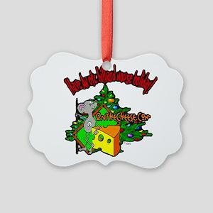 OTC Billiards Christmas Picture Ornament