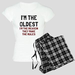 I'm the oldest make rules Women's Light Pajamas