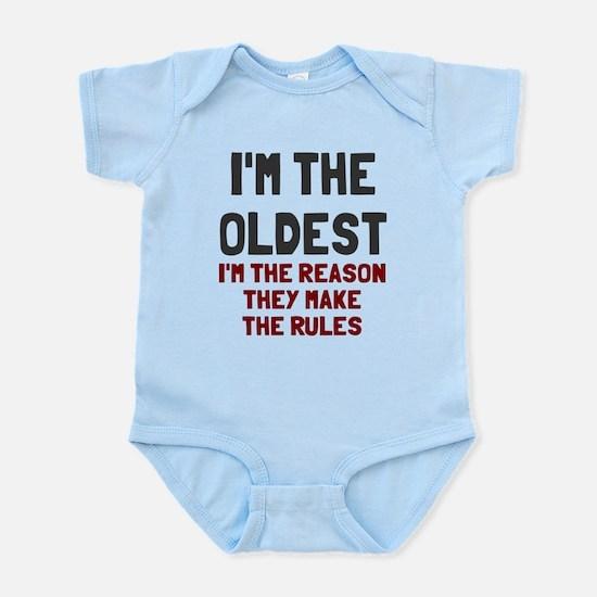 I'm the oldest make rules Infant Bodysuit