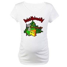OTC Billiards Christmas Maternity T-Shirt
