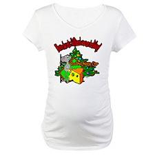 OTC Billiards Christmas Maternity T-Shirt