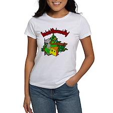 OTC Billiards Christmas Women's T-Shirt