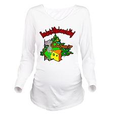 OTC Billiards Christ Long Sleeve Maternity T-Shirt