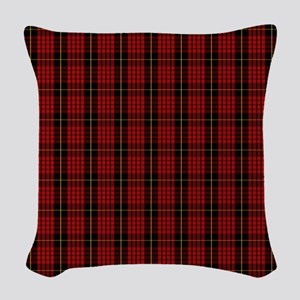 MacQueen Scottish Tartan Woven Throw Pillow