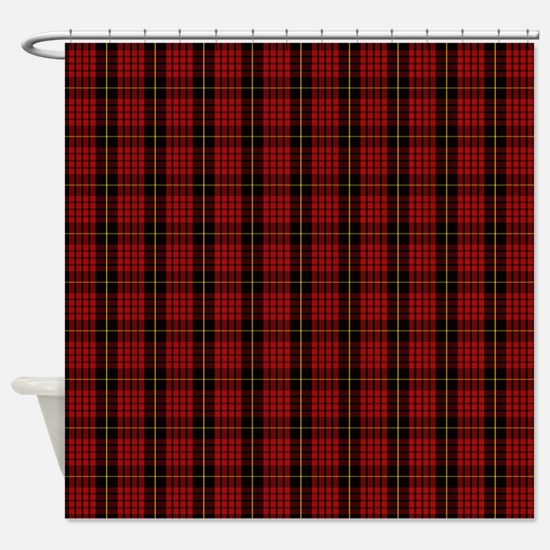 MacQueen Scottish Tartan Shower Curtain