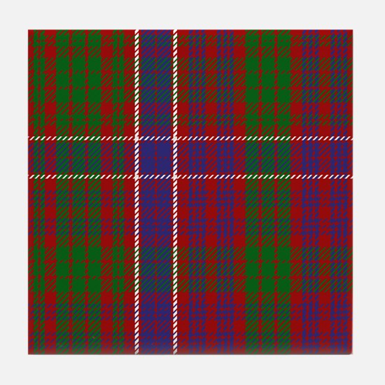 MacRae Scottish Tartan Tile Coaster