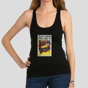 Fats Domino Concert Poster Tank Top