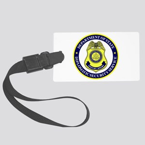 DEPT OF STATE - DIPLOMATIC SECUR Large Luggage Tag