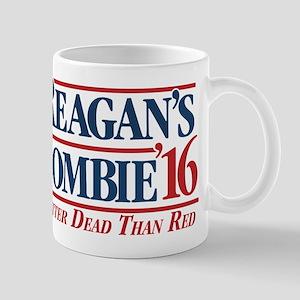 Reagan's Zombie for President Mugs