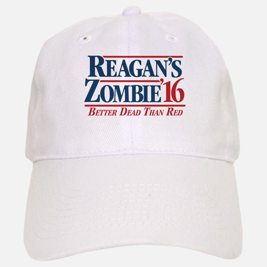 Reagan's Zombie for President Baseball Baseball Baseball Cap