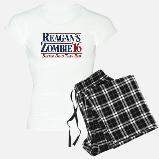 Reagan's Zombie For Women's Light Pajamas