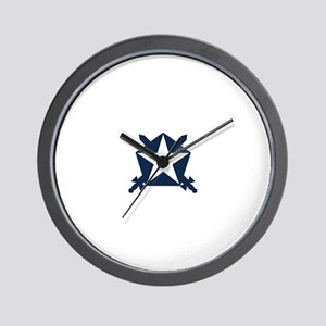 Pi Kappa Phi Star Shield Wall Clock