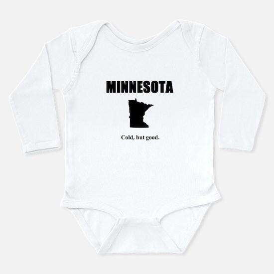 Cute Places Long Sleeve Infant Bodysuit