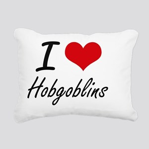 I love Hobgoblins Rectangular Canvas Pillow