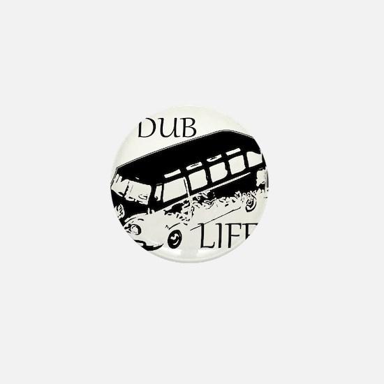 vdub life v w camper van travel Mini Button