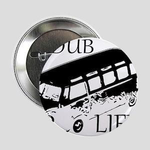 """vdub life v w camper van travel 2.25"""" Button"""