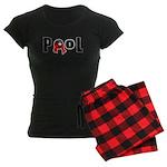 8 ball pool Women's Dark Pajamas