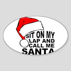 Santas lap Sticker