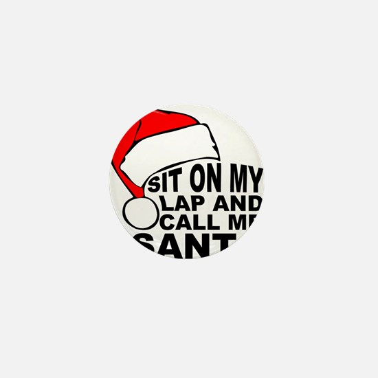 Santas lap Mini Button