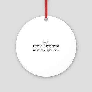 Dental Hygienist Round Ornament