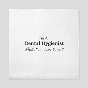 Dental Hygienist Queen Duvet