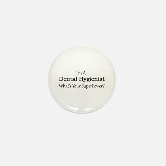 Dental Hygienist Mini Button