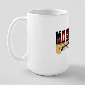 Nashville Music City USA Large Mug