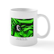Billiards Xmas Greenery 11 oz Ceramic Mug