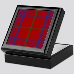 Rose Scottish Tartan Keepsake Box