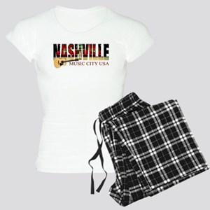 Nashville Music City USA Pajamas