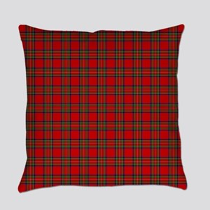Royal Stewart Tartan Everyday Pillow